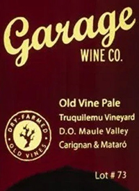 Garage Wine Co. Old Vine Pale Carignan-Mataró Lot 83text