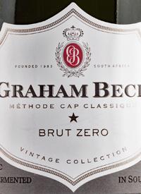 Graham Beck Brut Zerotext