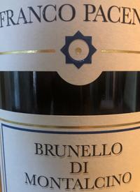 Franco Pacenti Brunello di Montalcinotext