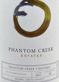Phantom Creek Estates Phantom Creek Vineyard Co-Fermented Malbec Petit Verdottext
