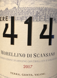 Podere 414 Morellino di Scansanotext