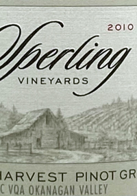 Sperling Late Harvest Pinot Gristext