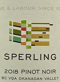 Sperling Vineyards Pinot Noir