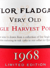 Taylor Fladgate Very Old Single Harvest Port