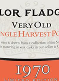 Taylor Fladgate Very Old Single Harvest Porttext