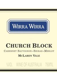 Wirra Wirra Church Block Cabernet Shiraz Merlottext