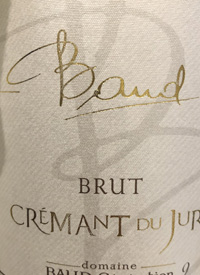 Domaine Baud Blanc de Blanc Crémant du Jura Brut