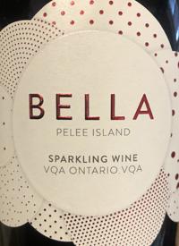 Pelee Island Bella Sparkling Redtext
