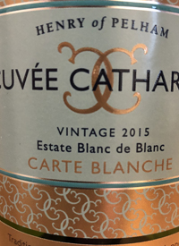Henry of Pelham Cuvée Catharine Carte Blanche Blanc de Blancs
