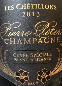 Champagne Pierre Peters Les Chétillons