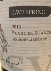 Cave Spring Blanc de Blancs CSVtext
