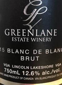 Greenlane Estate Winery Blanc de Blancs Brut