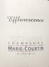 Champagne Marie-Courtin Efflorescence Extra Brut