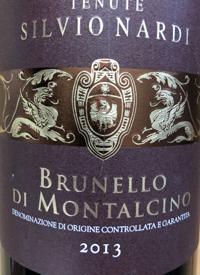 Tenute Silvio Nardi Brunello di Montalcinotext