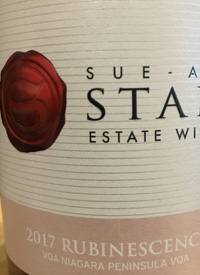 Sue-Ann Staff Estate Winery Rubinescence
