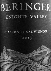 Beringer Knights Valley Cabernet Sauvignontext