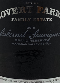 Covert Farms Cabernet Sauvignon Grand Reservetext