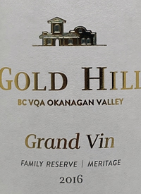 Gold Hill Grand Vin Family Reserve Meritagetext