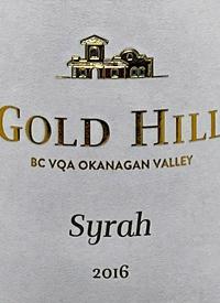 Gold Hill Syrahtext