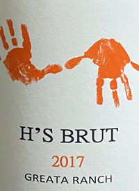 H's Brut Sparkling Winetext