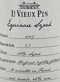 Le Vieux Pin Equinoxe Syrahtext
