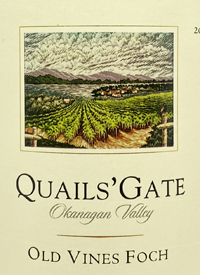 Quails' Gate Old Vines Fochtext