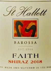 St. Hallett Faith Shiraztext