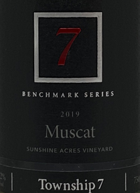 Township 7 Benchmark Series Muscat Sunshine Acres Vineyardtext