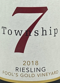 Township 7 Riesling Fool's Gold Vineyardtext