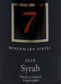 Township 7 Benchmark Series Syrah Fool's Gold Vineyardtext