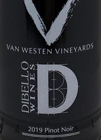 Van Westen Vineyards Di Bello Wines VD Pinot Noir