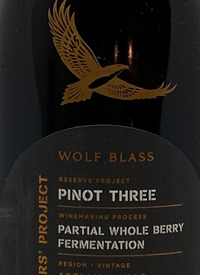 Wolf Blass Maker's Project Pinot Three Reserve Projecttext