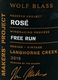 Wolf Blass Maker's Project Rosé Free Runtext