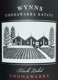 Wynns Coonawarra Estate Cabernet Sauvignon Black Labeltext