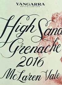 Yangarra High Sands Grenachetext