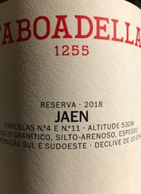 Taboadella 1255 Jaen Reserva Redtext