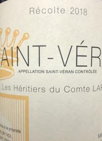 Les Hêritiers du Comte Lafon Saint-Véran