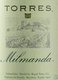Torres Milmanda Chardonnaytext