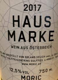 Moric Hausmarke Rottext