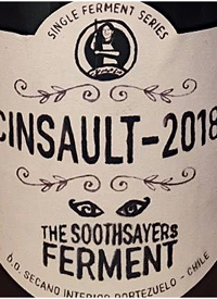 Garage Wine Co. Single Ferment Series The Soothsayer's Ferment Cinsaulttext