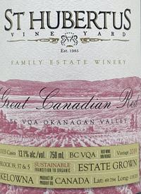 St. Hubertus Great Canadian Redtext