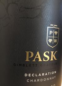 Pask Declaration Chardonnaytext