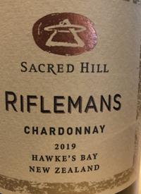 Sacred Hill Riflemans Chardonnaytext