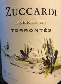 Zuccardi Serie A Torrontéstext