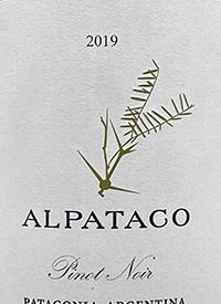 Familia Schroeder Alpataco Pinot Noirtext