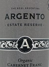 Argento Estate Reserve Organic Cabernet Franctext