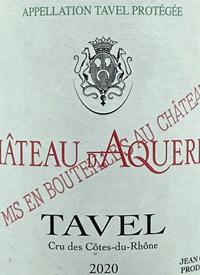 Château d'Aqueria Taveltext