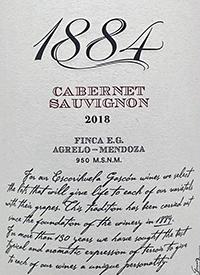 1884 Cabernet Sauvignon Finca E.G.text