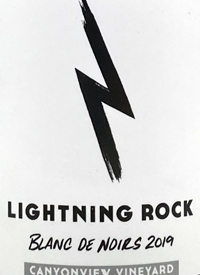 Lightning Rock Blanc de Noirs Canyonview Vineyard