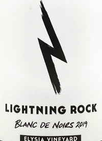 Lightning Rock Blanc de Noirs Elysia Vineyard Traditonal Method Brut Naturetext